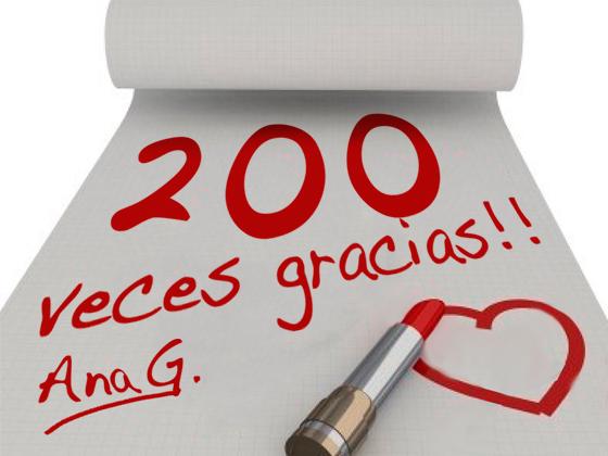200 VECES GRACIAS