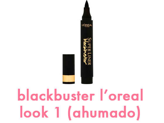 BLACKBUSTER DE L'OREAL – LOOK 1 (AHUMADO)