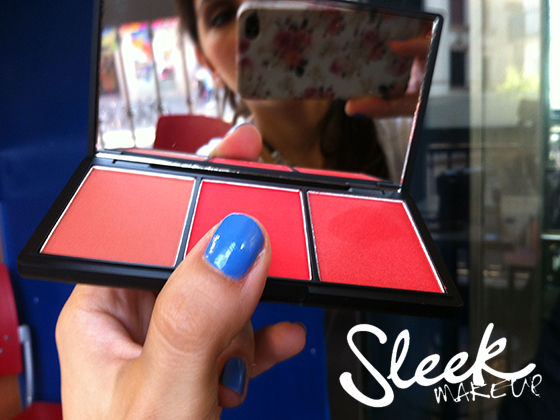 COLORETE TRIO FLAME, DE SLEEK