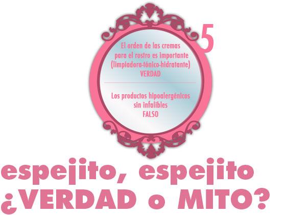 ESPEJITO ESPEJITO, ¿VERDAD O MITO? #5