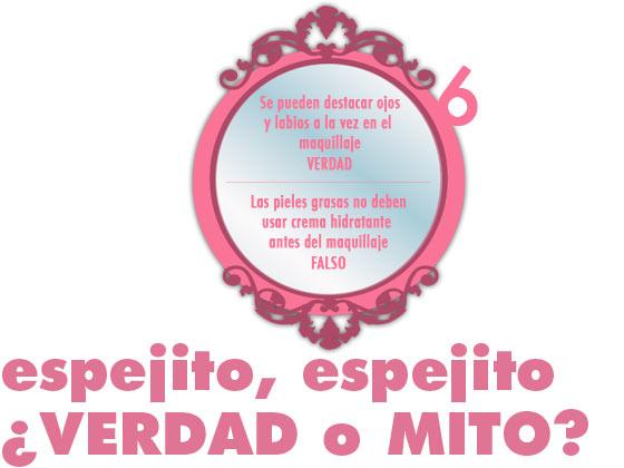 ESPEJITO, ESPEJITO ¿VERDAD O MITO? #6