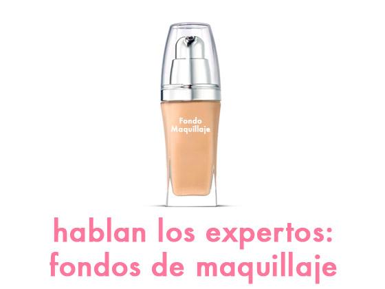 HABLAN LOS EXPERTOS: FONDOS DE MAQUILLAJE