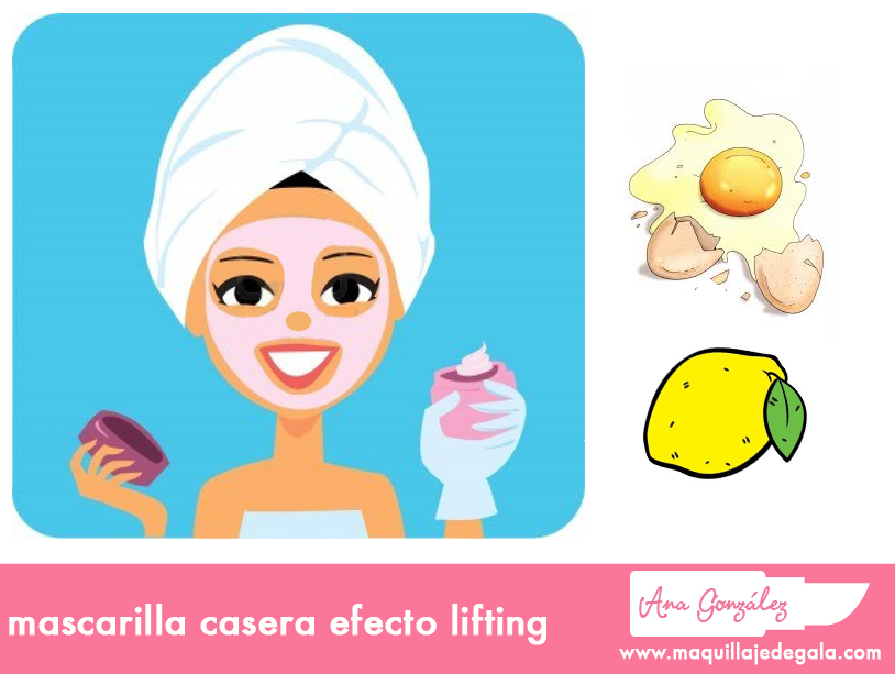 mascarilla efecto lifting
