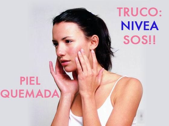 TRUCO HIDRATACIÓN EXPRESS: NIVEA SOS!!