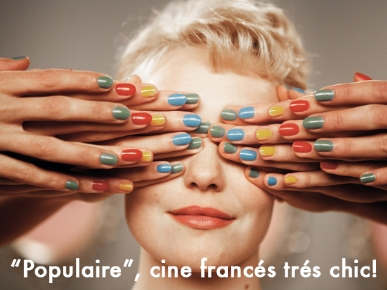 """""""POPULAIRE"""", CINE FRANCÉS TRÉS CHIC!"""