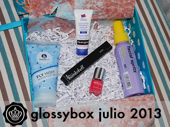 GLOSSYBOX JULIO 2013
