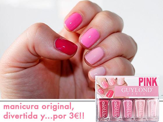 MANICURA ORIGINAL, DIVERTIDA Y… POR 3€!!!