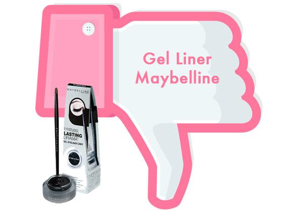NO ME CONVENCIÓ #4: GEL LINER MAYBELLINE
