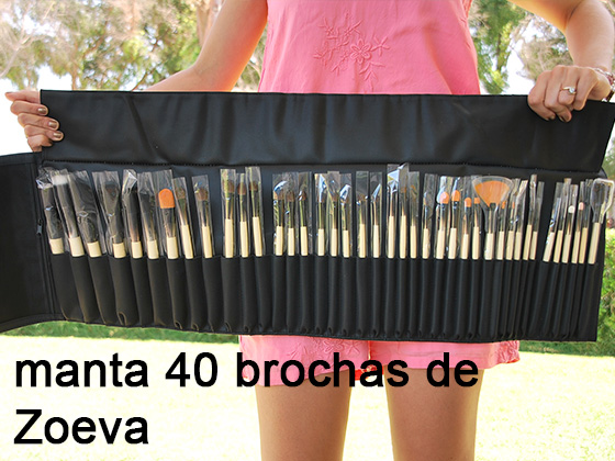 MANTA DE 40 BROCHAS DE ZOEVA