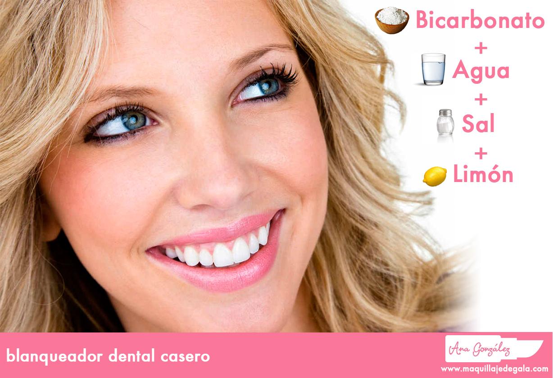 blanqueador dental casero