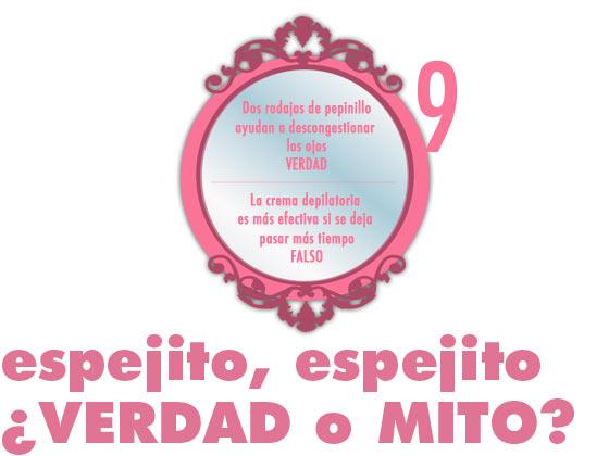 ESPEJITO, ESPEJITO: ¿VERDAD O MITO? #9