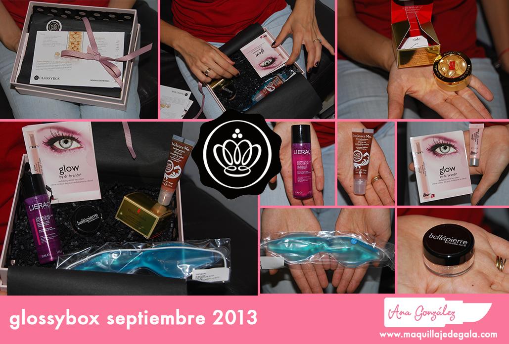 glossybox septiembre 2013