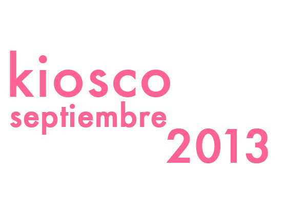 KIOSCO SEPTIEMBRE 2013