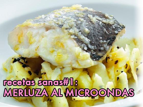 RECETAS SANAS #1: MERLUZA AL MICROONDAS