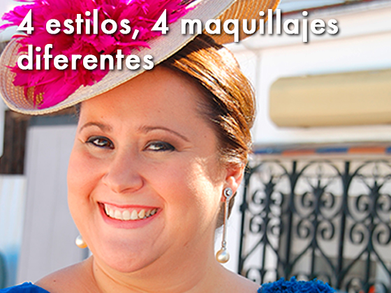 CUATRO ESTILOS, CUATRO MAQUILLAJES DIFERENTES