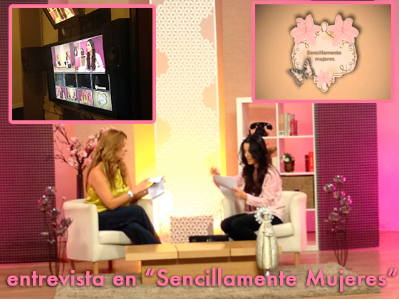"""Entrevista en """"Sencillamente Mujeres"""""""
