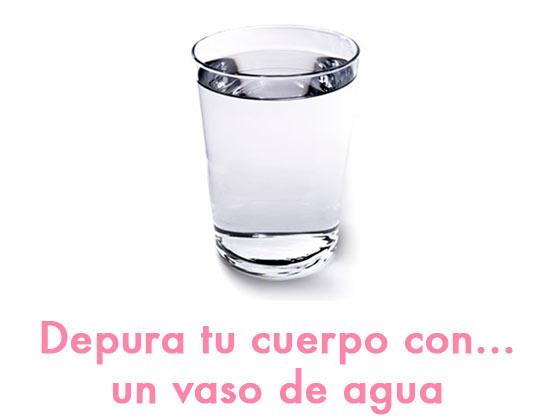 Depura tu cuerpo con… un vaso de agua