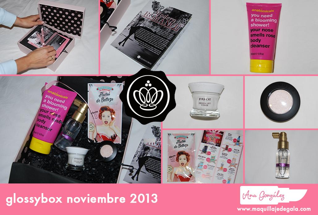 glossybox noviembre 2013