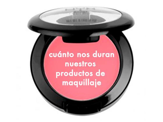 Cuánto nos duran nuestros productos de maquillaje