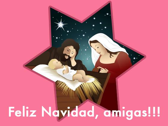 Feliz Navidad, amigas!!!