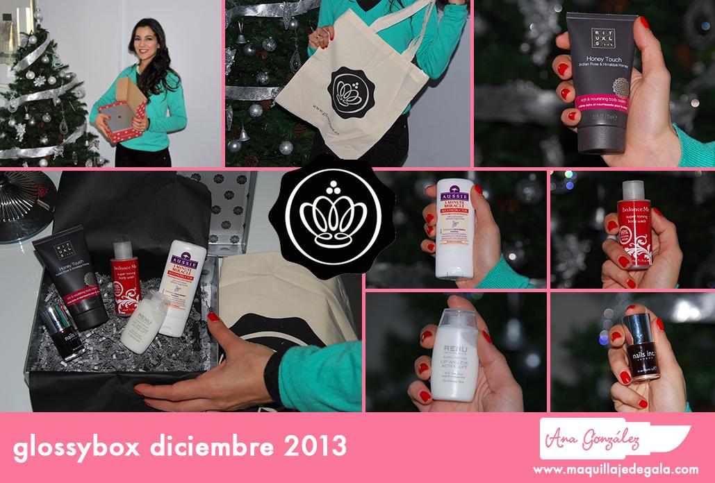 glossybox diciembre 2013