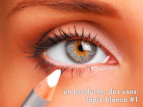 Un producto, dos usos: Lápiz Blanco #1