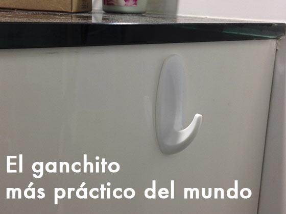 El ganchito más práctico del mundo