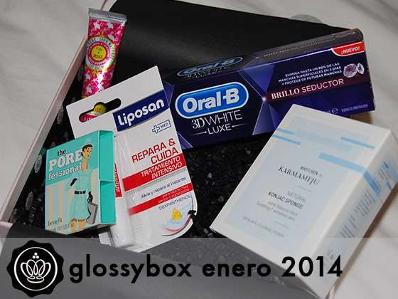 Glossybox Enero 2014