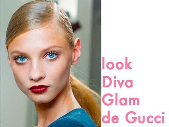 "Look ""Diva Glam"" de Gucci"
