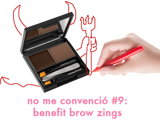 No me convenció #9: Benefit Brow Zings