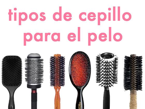 Tipos de Cepillo para el Pelo
