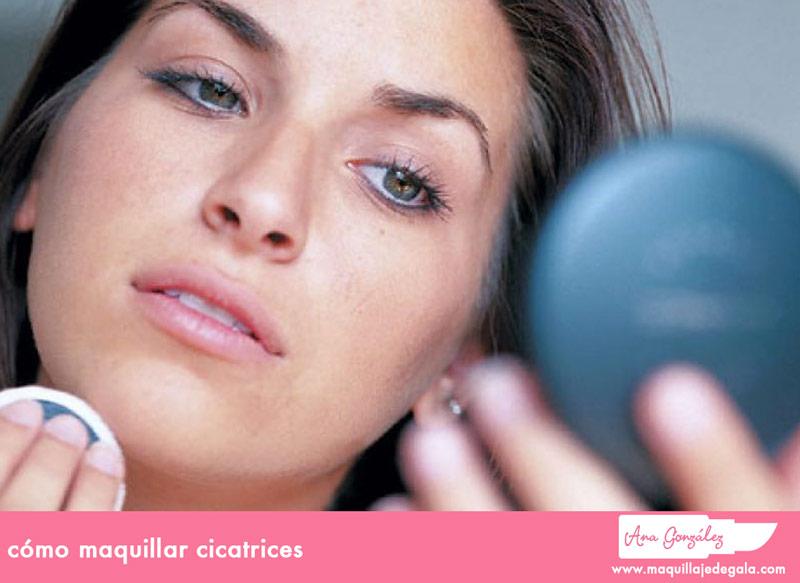 cómo maquillar cicatrices