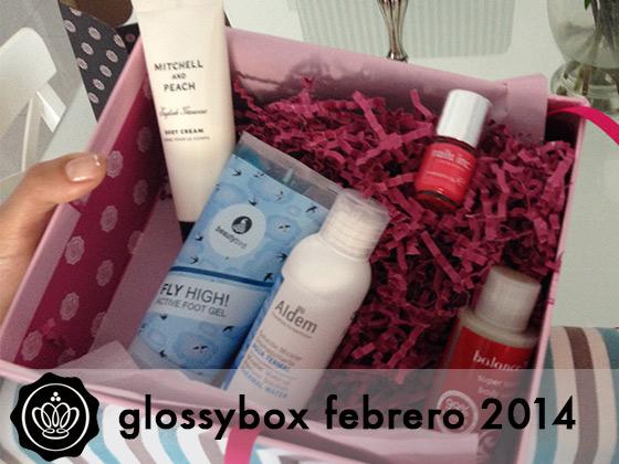 Glossybox Febrero 2014