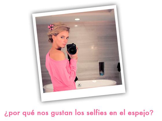 ¿Por qué nos gustan los selfies en el espejo?