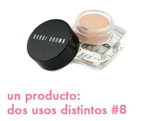 Un producto, dos usos distintos #8: Sombra en crema