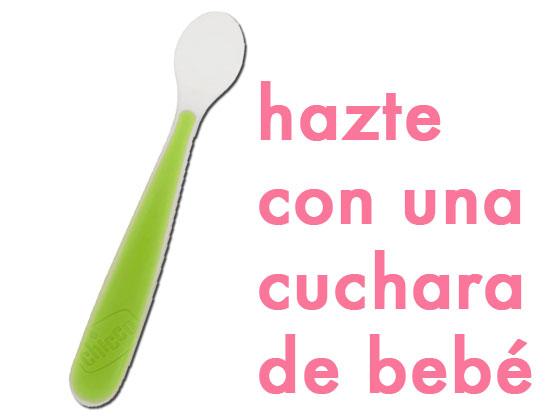 Hazte con una cuchara de bebé