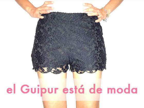 El Guipur está de moda