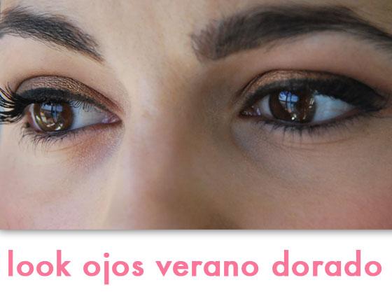 Look Ojos Verano Dorado