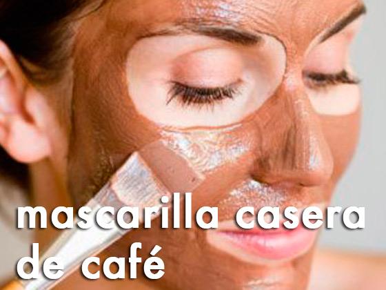 Mascarilla casera de Café