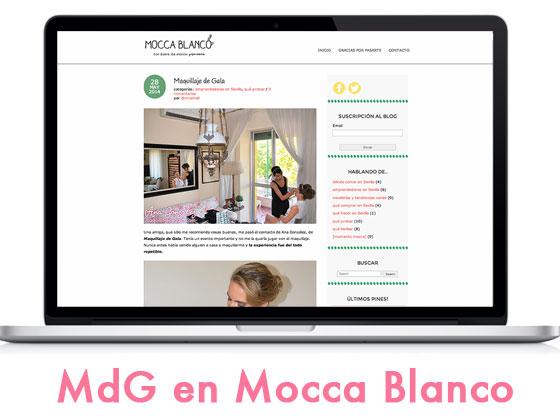 "Maquillaje de Gala en ""Mocca Blanco"""