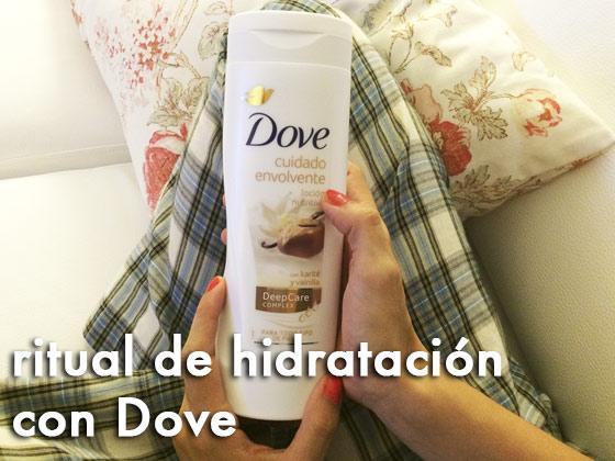 Ritual de hidratación con Dove