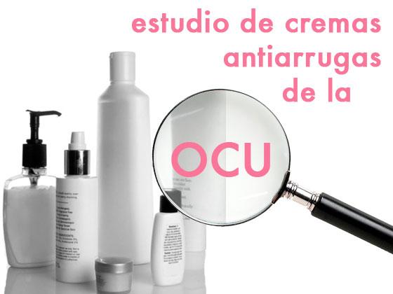 Estudio de cremas antiarrugas de la OCU