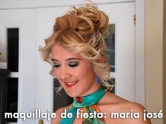 Maquillaje de Fiesta: María José