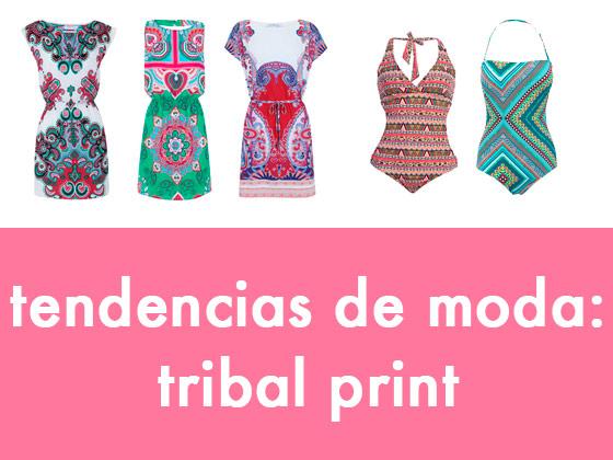 Tendencias de moda: Tribal Print