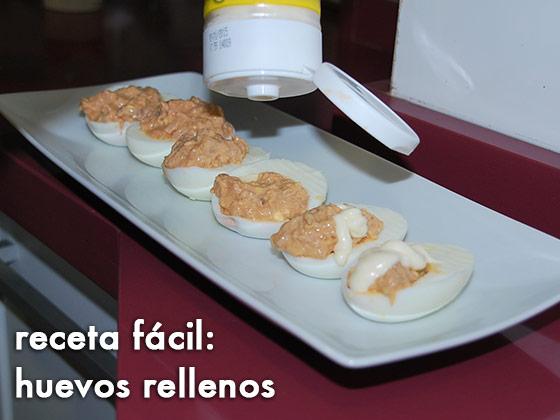 Receta fácil: Huevos Rellenos