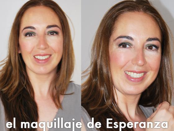 El maquillaje de Esperanza