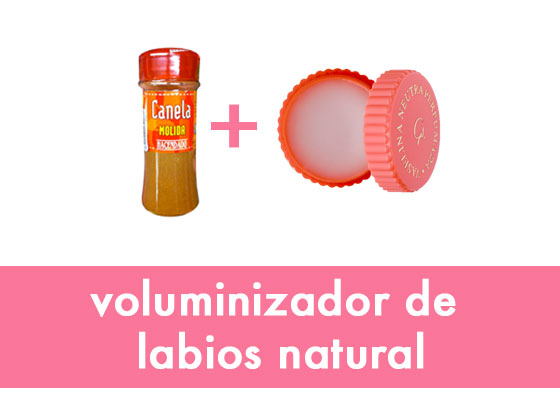 Voluminizador de labios natural
