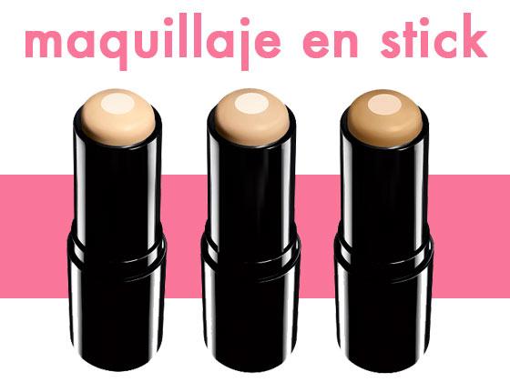 Maquillaje en stick