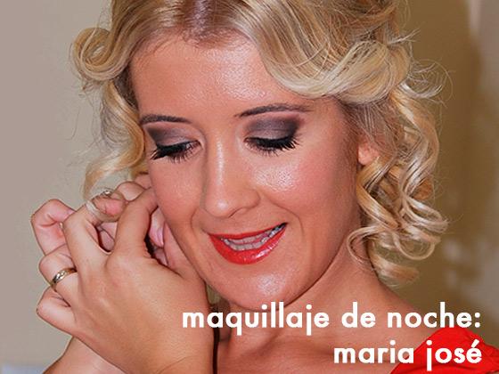 Maquillaje de noche: Maria José