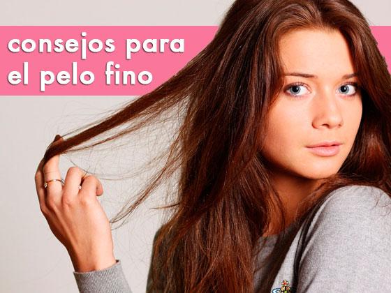 Consejos para el pelo fino